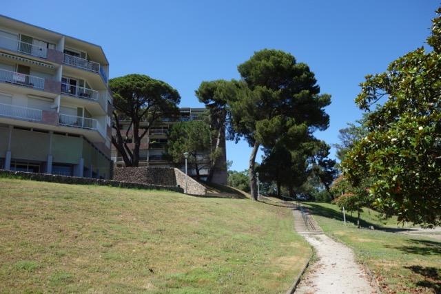 urban quartier Ancely : Chemin piéton en bord de Garonne