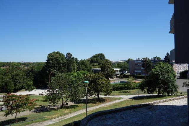 urban quartier Ancely : vue globale du parc de jeux