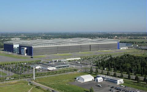 urban quartier Blagnac : Aéroconstellation - Usines Airbus