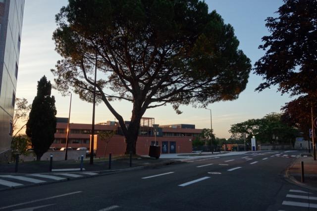 urban quartier Purpan : Secteur CHU - L'Hôpital Garonne