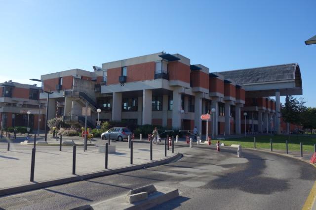 urban quartier Purpan : Le CHU - l'hôpital des enfants